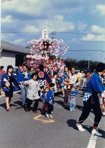 水神社祭り神輿